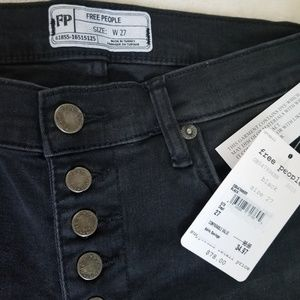 Free People Jeans - NWT Free People Reagan Skinny Crop Jeans Size 27